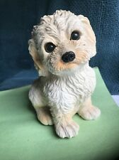 Vintage Dog Music Box Plays Where Has My Little Dog Gone