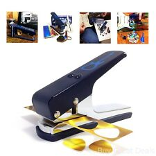 Guitar Pick Puncher Maker Cutter Leather Key Chain Pick Holder