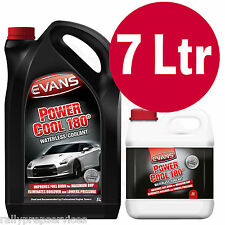 EVANS WATERLESS POWER COOLANT 180 - 7 Litre High Performance / Rally Car / Race