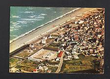 CAYEUX-sur-MER (80) VILLAS & EGLISE en vue aérienne en 1973