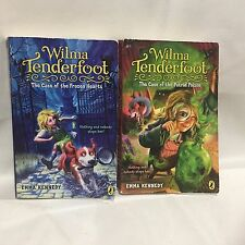 2 PC Lot Wilma Tenderfoot: The Case Frozen Hearts & Putrid Poison Emma Kennedy