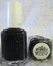 Essie Nail Polish Spun In Luxe #3039 Dark Blue Matte Shimmer Lacquer Manicure