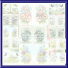 A5 INSERTS FOR BIRTHDAY CARDS X PACK OF 24 WITH VERSE