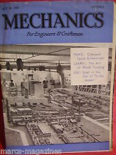 A RARE MECHANICS FOR ENGINEERS & CRAFTSMEN JULY 28 1950 PONTOON HOLIDAY BOAT