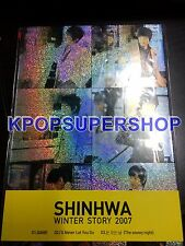 Shinhwa Single - Winter Story 2007 CD Great Cond. Rare OOP  KPOP Shin Hye Sung