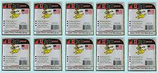 10 PRO MOLD 10 COUNT MINI SNAP PC10 NEW Super Thick Sport Card Storage Case Tite