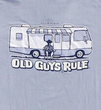 "OLD GUYS RULE "" WINNEBAGO "" MOTOR HOME KING OF THE ROAD SURFER SURFBOARD SS XL"