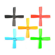 10 Pairs Racerstar 2035 50mm 4 Blade ABS Propeller 1.5mm Mounting Hole For 80-11