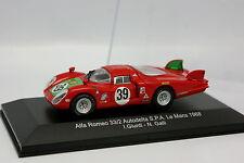 M4 1/43 - Alfa Romeo 33.2 Autodelta Le Mans 1968 N°39