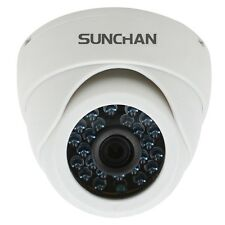 1.0MP AHD 720P Plastic Indoor IR Dome 3.6mm Day Night Security Cameras SUNCHAN