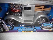 MUSCLE MACHINES FUNLINE 1929 29 MODEL PU SILVER PRO STREET HOT ROD PICKUP TRUCK