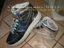 Nike Air Lunar Force One Mid SP Liquid Metal Silver UNDFTD Supreme Foam 10