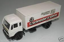 """NZG Modelle 1:50  Mercedes-Benz SK """"G.Schneider&Söhne"""" ohne OVP(EH1444)"""