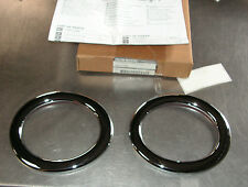 Nissan Micra K13 Chrome Foglamp Rings Part Number KE540-1HA80 Genuine Nissan