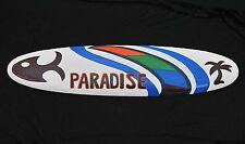 Surfboard Deko zum Aufhängen 100cm Paradise Schild Board TIKI Hawaii Stil