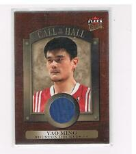YAO MING 2007-08 FLEER ULTRA CALL TO THE HALL GU JERSEY CARD HOUSTON ROCKETS