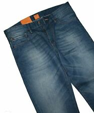 Hugo Boss 50264747 Bleu Moyen Orange 24 Barcelona Jeans W31 / L34