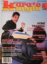 3/88 KARATE KUNG FU MAGAZINE MIKE YOUNG JOHN LONGSTREET BRUCE LEE MARTIAL ARTS