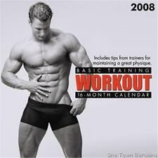 BASIC TRAINING: WORKOUT 2008 CALENDAR WORK OUT HOT GAY INT SALE Mens Fitness