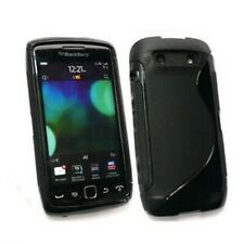 Black Gel Hybrid Case Cover Skin for BLACKBERRY TORCH 9860 TPU - In Stock - UK