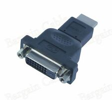 3 Pack DVI-D Female(24+1 pin) to HDMI Male Monitor HDTV Adapter (ADVID2-HM1-3P)