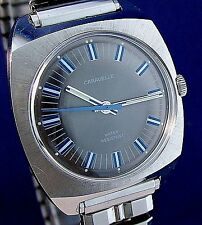 Caravelle by Bulova 1975 vintage 17j mechanical watch w/ beautiful dial & hands