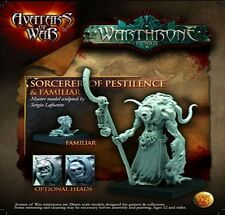 Avatars of War Sorcerer of Pestilence & Familiar Chaos BNIB