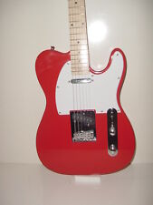 NEW Huntington Red T Style 6 String Electruc Guitar with Maple Fret Board