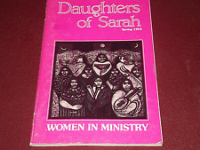 DAUGHTERS OF SARAH Spring '93 WOMEN IN MINISTRY Christian Feminist Magazine