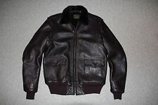 Aero Leathers AN-J-3 Flight Jacket Fliegerjacke Lederjacke UK 44 - NEU