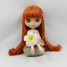 """12"""" Neo Blythe Doll Transparent Skin Nude Doll from Factory XZ042"""
