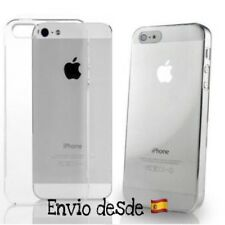 Funda Silicona TPU 0.33mm Ultrafina Transparente 100% iPhone 5/5s/5se