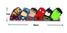 Pegatina de coche bebe SuperHeroes Superman Iron Man Hulk SuperHero Car Sticker