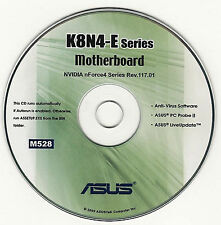ASUS K8N4-E DELUXE Motherboard Drivers Installation Disk M528
