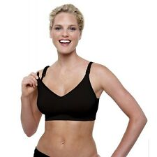 Bravado Designs Silk Seamless Nursing Breastfeeding Bra Black Small New In Box