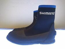 SHIMANO FLATS WADING BOOT SZ. 9 BLUE/BLACK OCEAN LAKE WATER SHOE