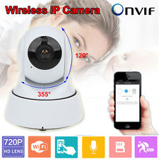 Indoor Wireless WiFi 720P HD Home CCTV Security IP Camera Night Vision Mini Cam