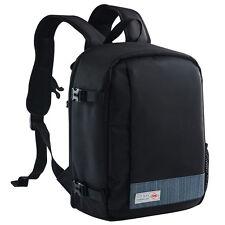 DSLR SLR Camera Bag Laptop Backpack Rucksack Case for Nikon Sony Canon Olympus