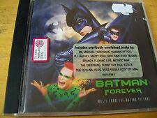 BATMAN FOREVER  O.S.T. CD MAZZY STAR U2 OFFSPRING MASSIVE ATTACK NICK CAVE