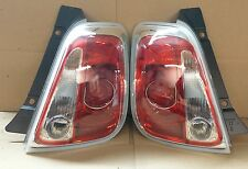New OEM Tail Lamp Light Pair Driver Passenger Fits 2012 2013 2014 2015 Fiat 500
