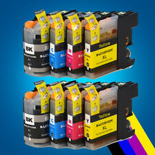 8 XL Chipped Ink Cartridge for Brother LC125XL LC127XL DCP J4110DW MFC J4410DW 2