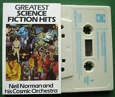 Greatest Science Fiction Hits Neil Norman Cosmic Orchestra Cassette Tape TESTED