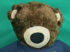 BIG BROWN BUILD A BEAR EXTREME SPORTS CYCLING T-SHIRT PLUSH STUFFED ANIMAL TOY