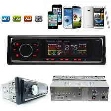 Auto Car Stereo Audio In-Dash SD USB MP3 WMA Radio Player Aux FM Input Receiver