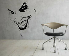 Joker Wall Vinyl Decals Super Hero Sticker DC Comics Art Removable Decor (2jbat)