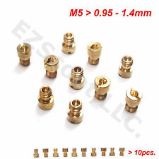 CARBURETOR MAIN JETS 125/150cc  M5 10PIECE GY6 CHINESE 4 STROKE SCOOTER MOPED
