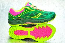 New Saucony Women's Peregrine 3 Trail Running Shoe Sz 6 10182-2 Green MSRP $110
