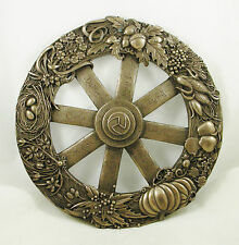 Pagan Wheel of the Year Wall Plaque | Bronzed Resin | Eight Pagan Festivals NEW