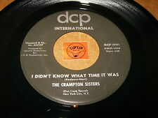 THE CRAMPTON SISTERS - I DIDN'T KNOW WHAT TIME IT - LISTEN - GIRL GROUP  POPCORN