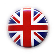 Badge DRAPEAU ANGLAIS UK FLAG British Union Jack England Rock Punk pop pin Ø25mm